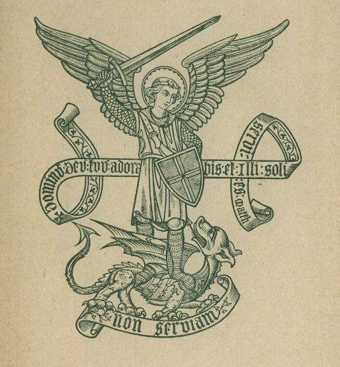 Saint Michel terrassant le dragon