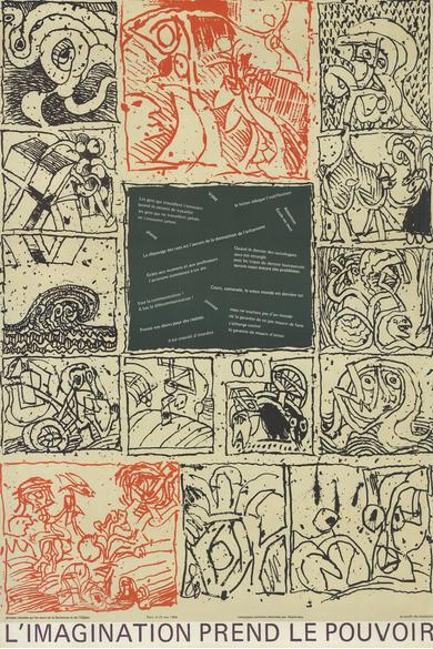 Tableau de Pierre Alechinsky
